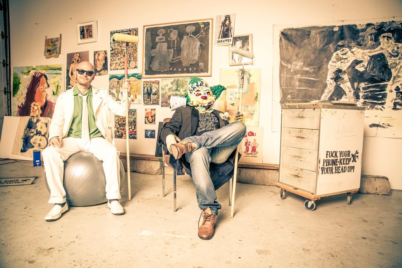 Ben Moon + Quigley photo by Neil Tandy studio shot
