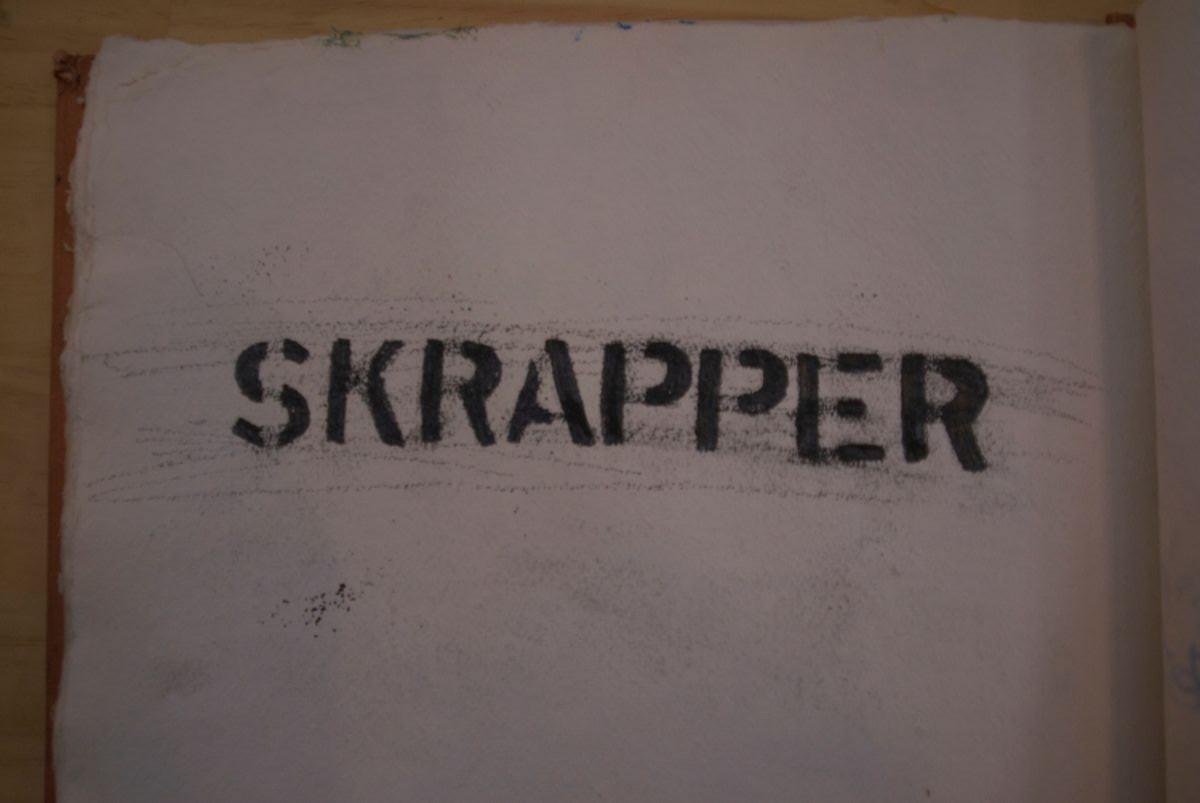 Skrapper Book