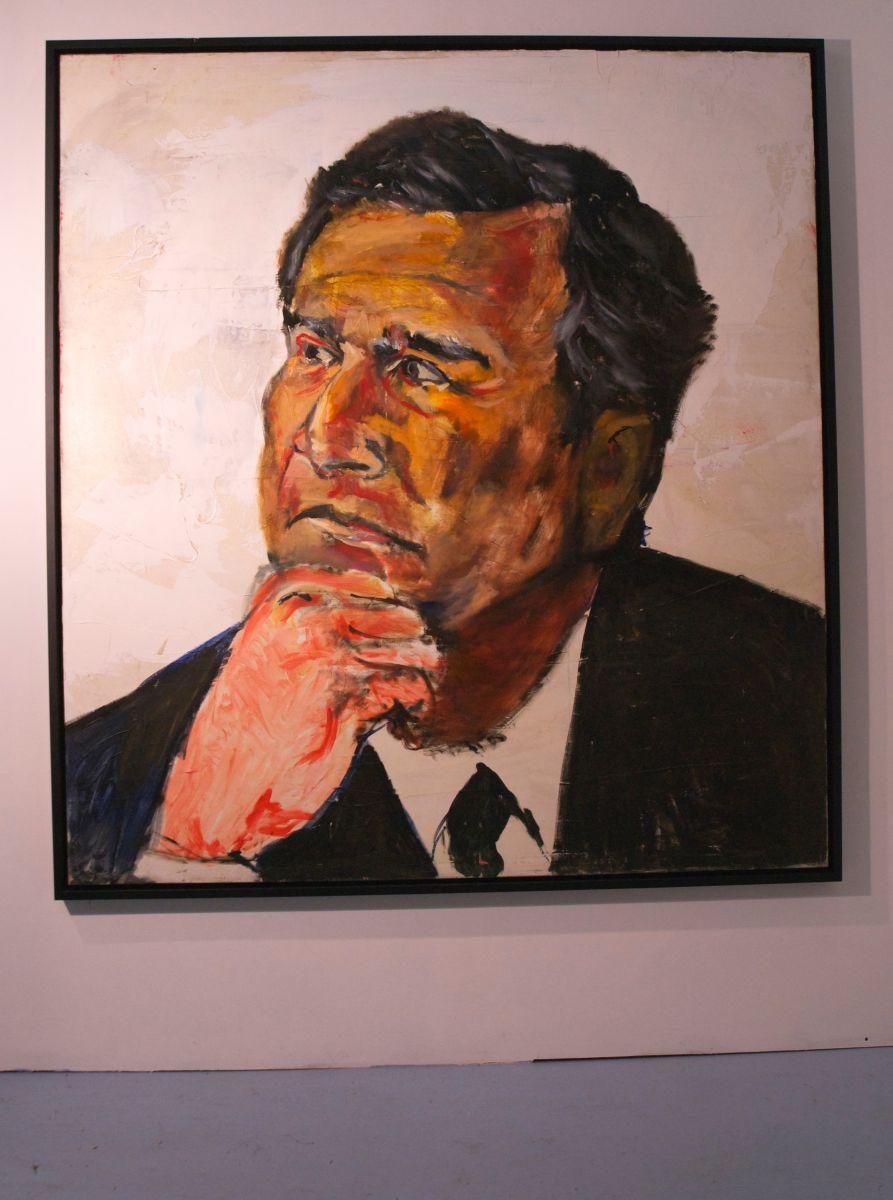 President Bush painted Sept 11 2001