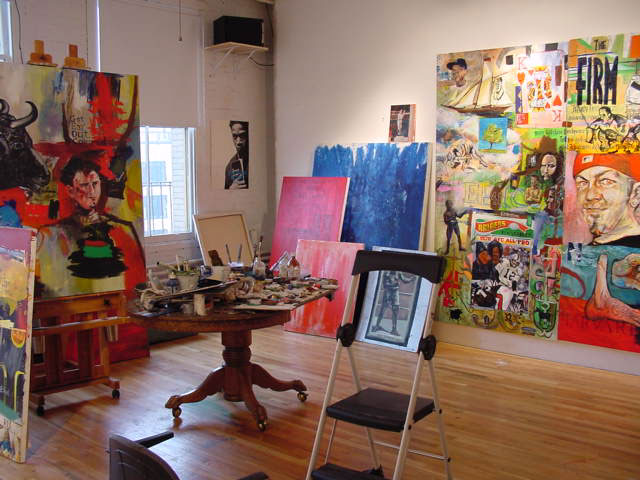 studio-with-JK-painting