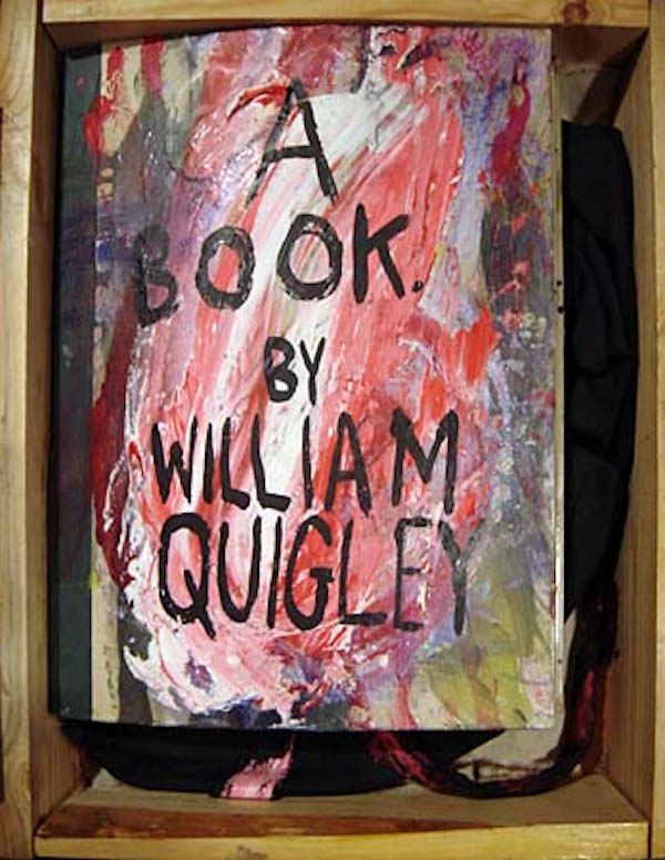 Cover, Whitney Book, in wooden crate. 1995