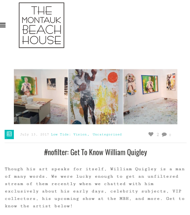 Getting to Know William Quigley