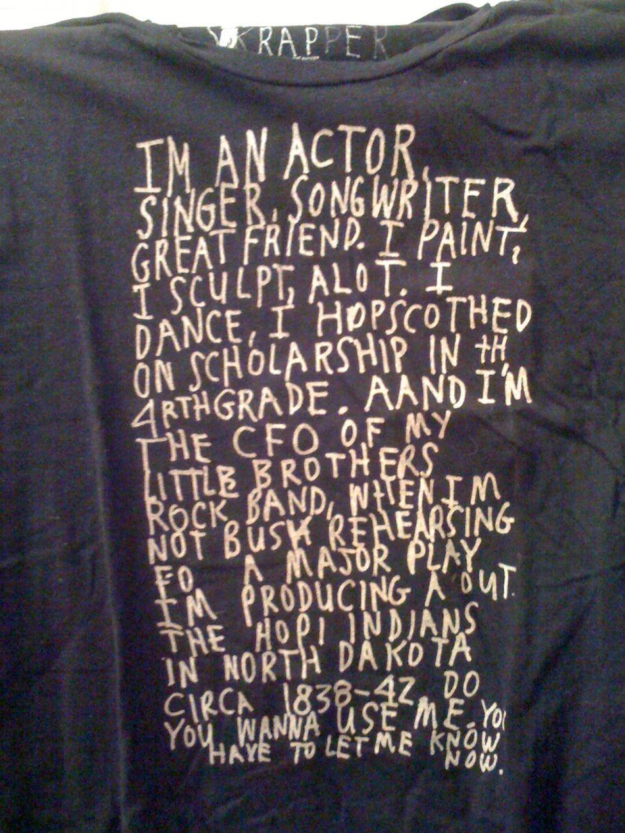 actor shirt