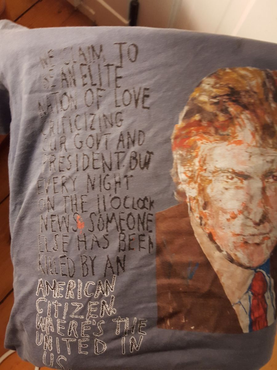 trump shirt 2016 from 2008 portrait