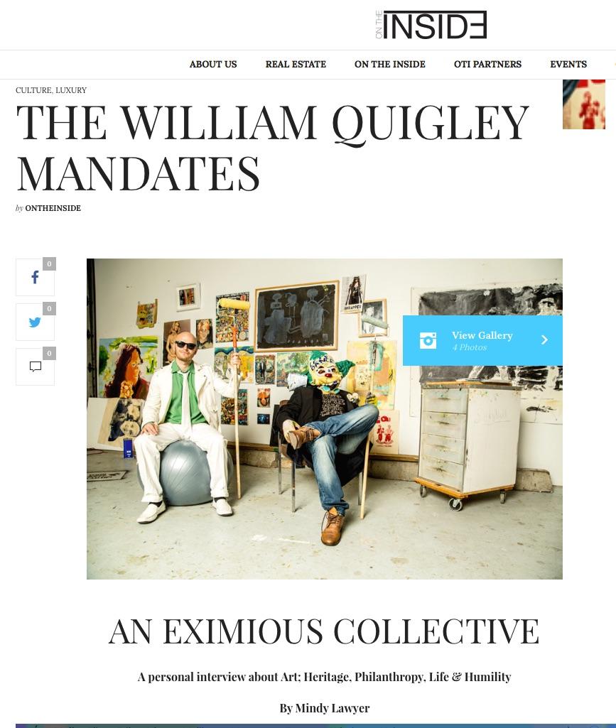 The William Quigley Mandates